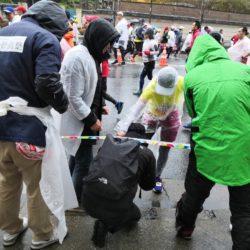 東京マラソンのボランティア活動